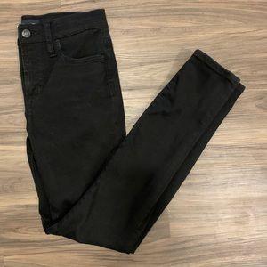 "JCREW 9"" High-rise Stretchy Toothpick Jeans SZ25"